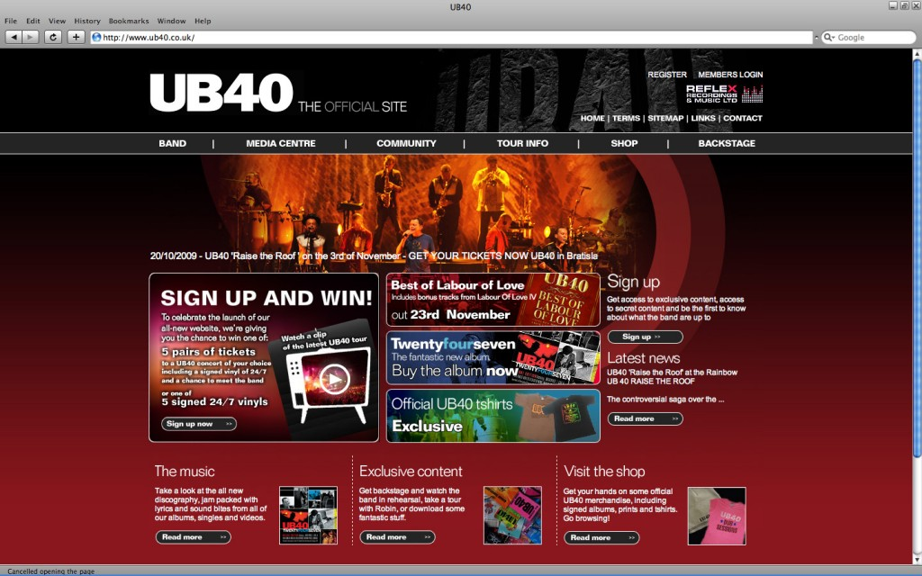 UB40 screenShoot
