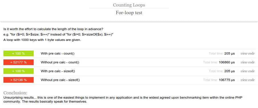 Optimising PHP - loops in PHP